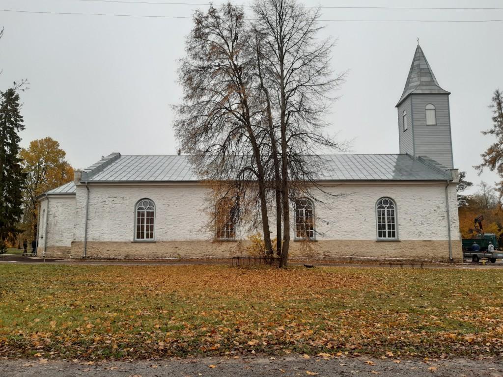 Kärdla kirik, vaade põhjast Autor K.Koit Kuupäev  19.10.2019