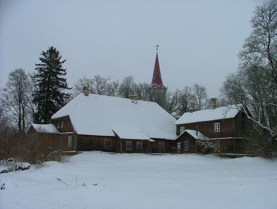 Suure-Jaani pastoraadi peahoone Autor J.Vali    Kuupäev  09.03.2005