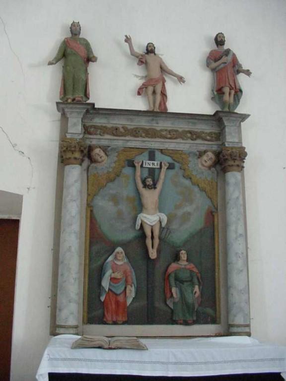 Altarisein. 17. saj. lõpp või 18. saj. algus (puit, polükroomia) Foto: S.Simson 09.10.2008