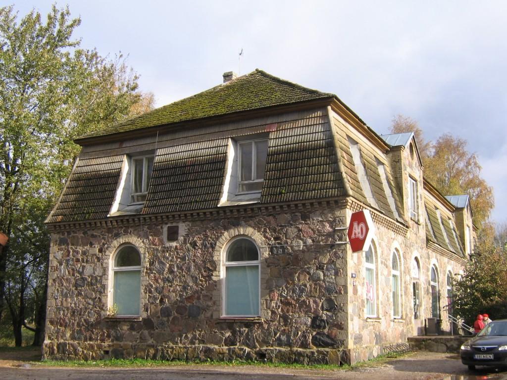 Laekvere ärihoonereg. nr. 15702, vaade läänest pilt Anne Kaldam kuupäev 13.10.2009
