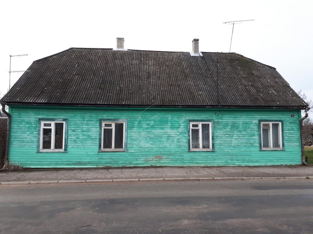 Elamu Tõrvas Veski t. 3. Vaade kagust. Foto M. Sein. 20.12.2019