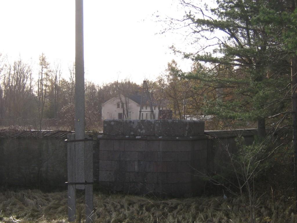 Arkna mõisa piirdemüürid.15749. vaade põhjapoolsele kivist piirdemüüri osale Anne Kaldam 30.10.2009
