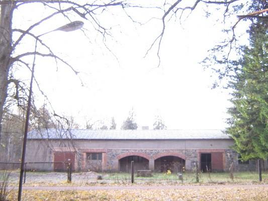 Arkna mõisa sõiduhobuste tall, 15757,vaade pargist-kirdest  Anne Kaldam 30.10.2009
