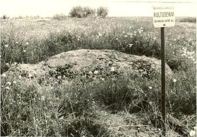 Lohukivi lõunast. Foto: H. Joonuks, 1977.