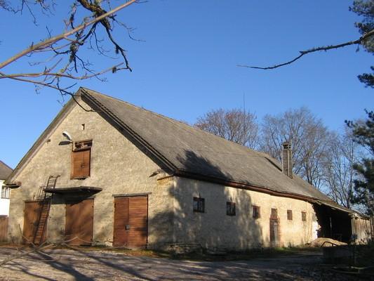Porkuni mõisa tall,15851, vaade lõunast, tänavalt  pilt: Anne Kaldam aeg: 03.11.2009