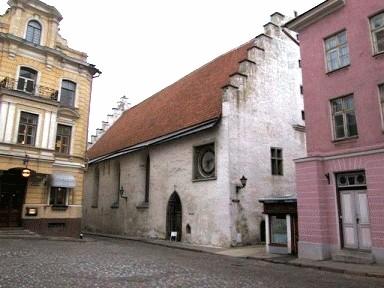 Tallinna Pühavaimu kirik, 14.-17.saj.