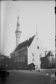 Tallinna Raekoda, 13.saj., 14.saj., 15.-20.saj. (arhiivifoto)