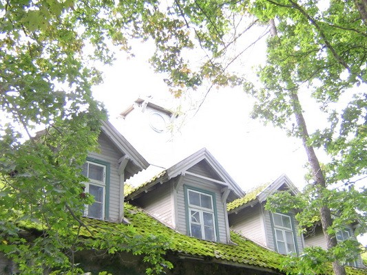 Kunda tsemendivabriku kontori hoone, 28733.vaade katusele detail  Autor Anne Kaldam aeg: 11.09.2008