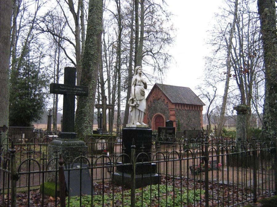Vaade Kõpu kalmistule Foto Anne Kivi  20.11.2009