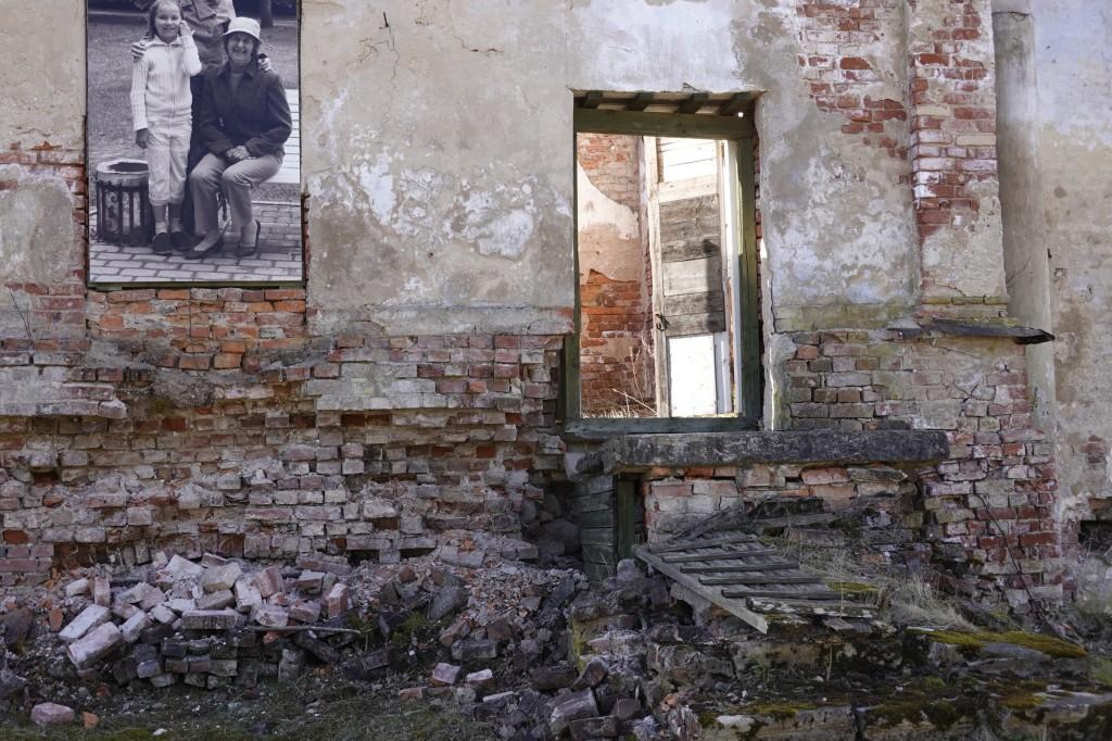 Narva mnt 177 mõisa peahoone põhjapoolne osa. Foto Egle Tamm, 11.04.2020.