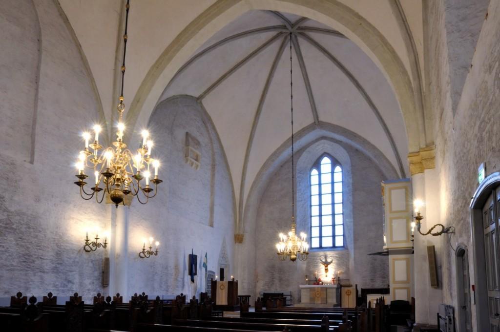 Toomkiriku interjöör Tõnis Padu foto 2008