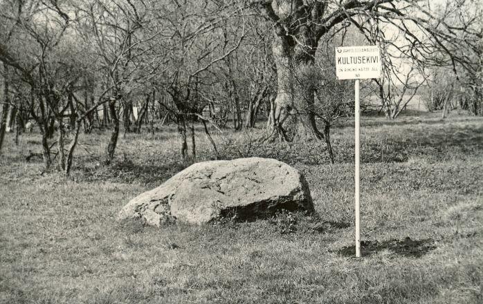 Lohukivi läänest. Foto: H. Joonuks, 1978.