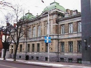 Eesti Panga vanem hoone, 1909. a., kus 24. veebruaril 1918.a . kuulutati välja Eesti Vabariik