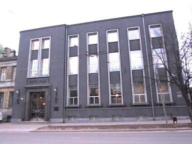 Eesti Panga uuem hoone, 1935. a.