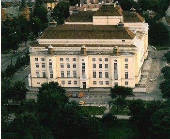 """""""Estonia"""" teatrihoone, 1911-1913.a., 1946-1950.a. (vanem foto)"""