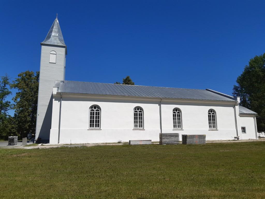 Kärdla kirik, vaade lõunast Autor K.Koit Kuupäev  22.06.2019