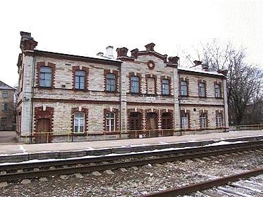 Tallinn-Väike jaamahoone, 1901. a