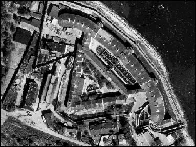 Kaitsekasarm, 1829-1840 (aerofoto)