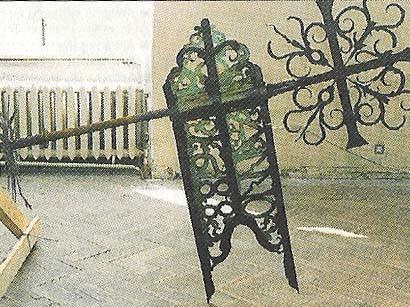Tuulelipp. D. Hübener, 1688 (vask, raudsepis). Hoiul ajaloomuuseumis.Foto: J. Heinla 2002.