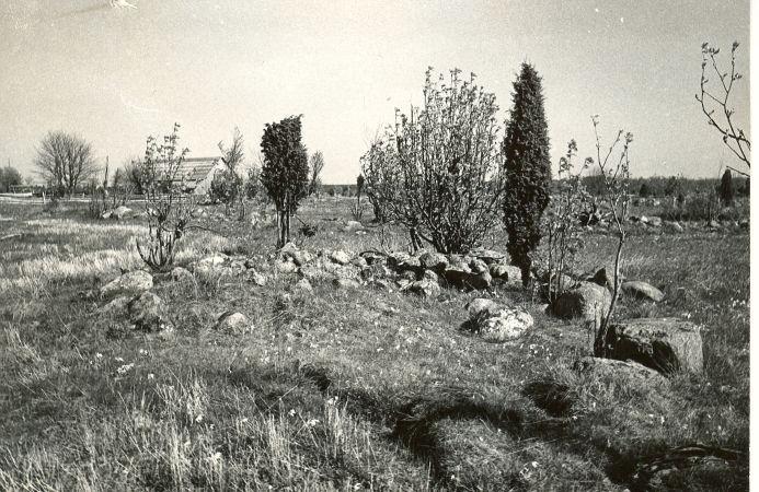 Kivikalme reg nr 12552 (184-k) - läänest. Foto: E. Väljal, 14.05.19....