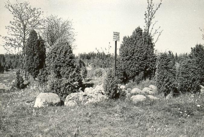 Kivikalme reg nr 12559 (191-k) - edelast. Foto: E. Väljal, 14.05.19....