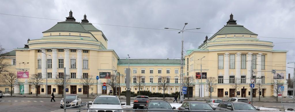 Vaade Teatri väljakult. Foto: H. Kuningas, 2021