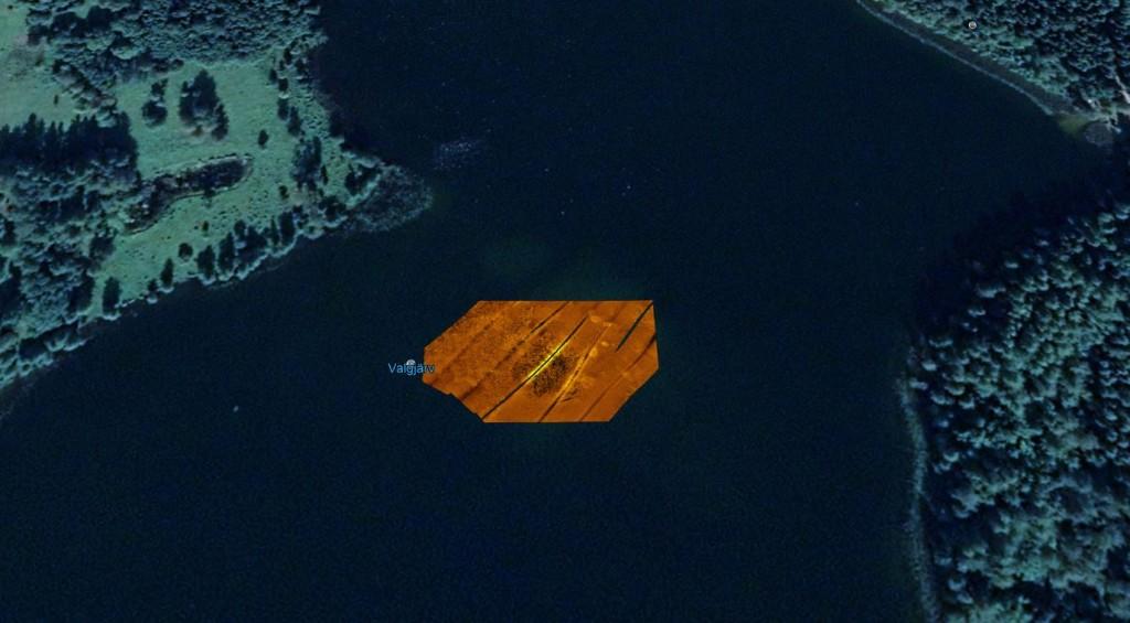 Ehitise jäänuste sonarimosaiik. Tuukritööde OÜ  2009.