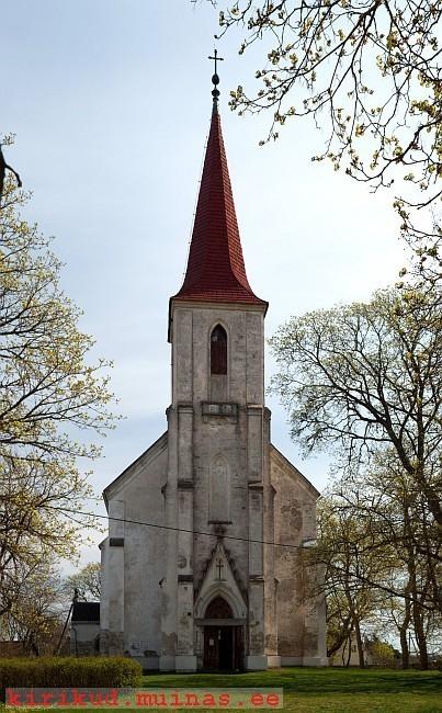 Mustjala kirik. Foto autor: teadmata. Kupäev: 1995-2000ndad