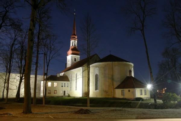 Põltsamaa kirik. Ü.Jukk, 03.11.2009