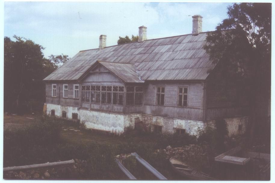 Taaliku mõis.  Foto: Saaremaa Muuseumi kogu. 20.sajandi I pool.