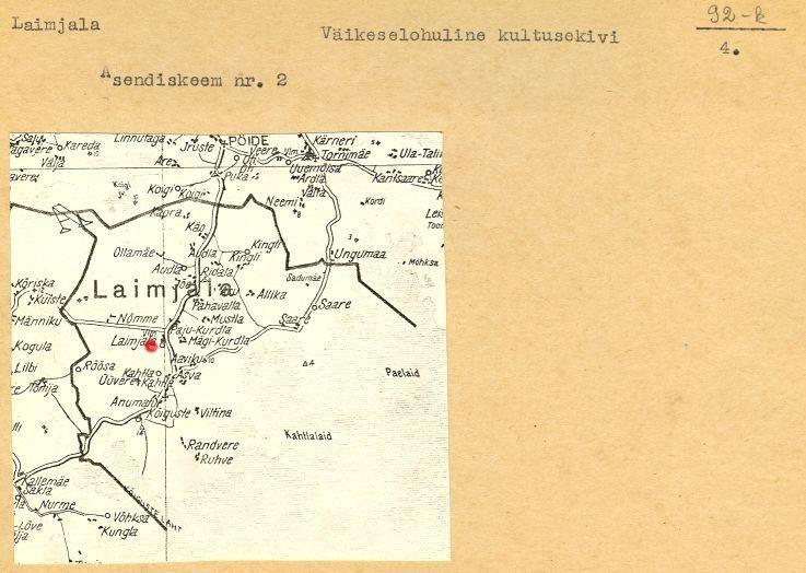 (Saaremaa arheoloogiamälestiste passid).