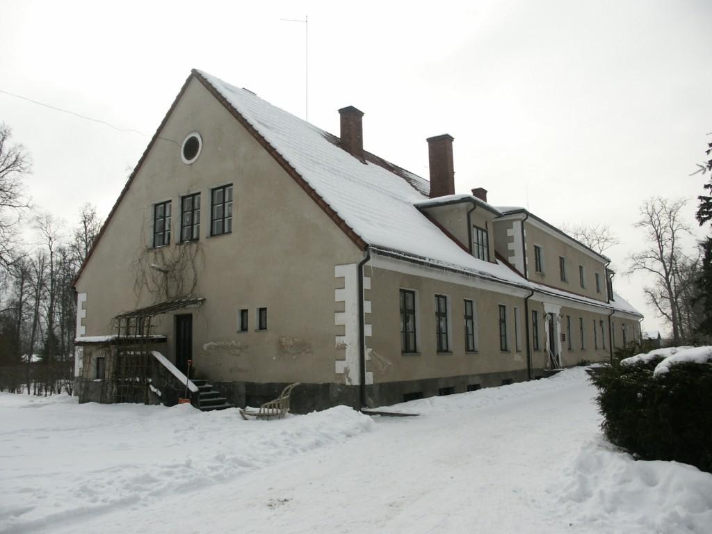 Aakre mõisa peahoone    Autor Eduard Rajari    Kuupäev  21.02.2005