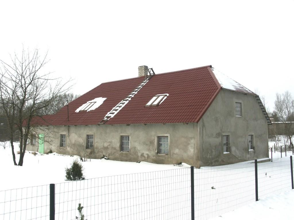 Aakre mõisa metsniku elamu    Autor Eduard Rajari    Kuupäev  21.02.2005