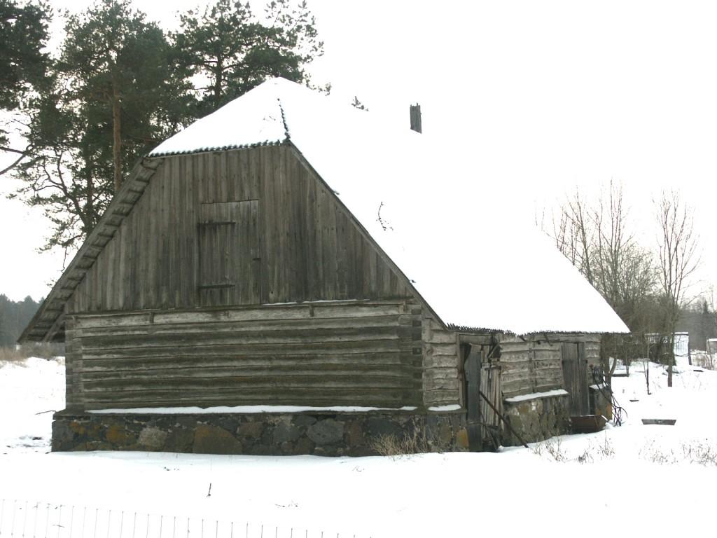 Aakre mõisa metsniku ait    Autor Eduard Rajari    Kuupäev  21.02.2005