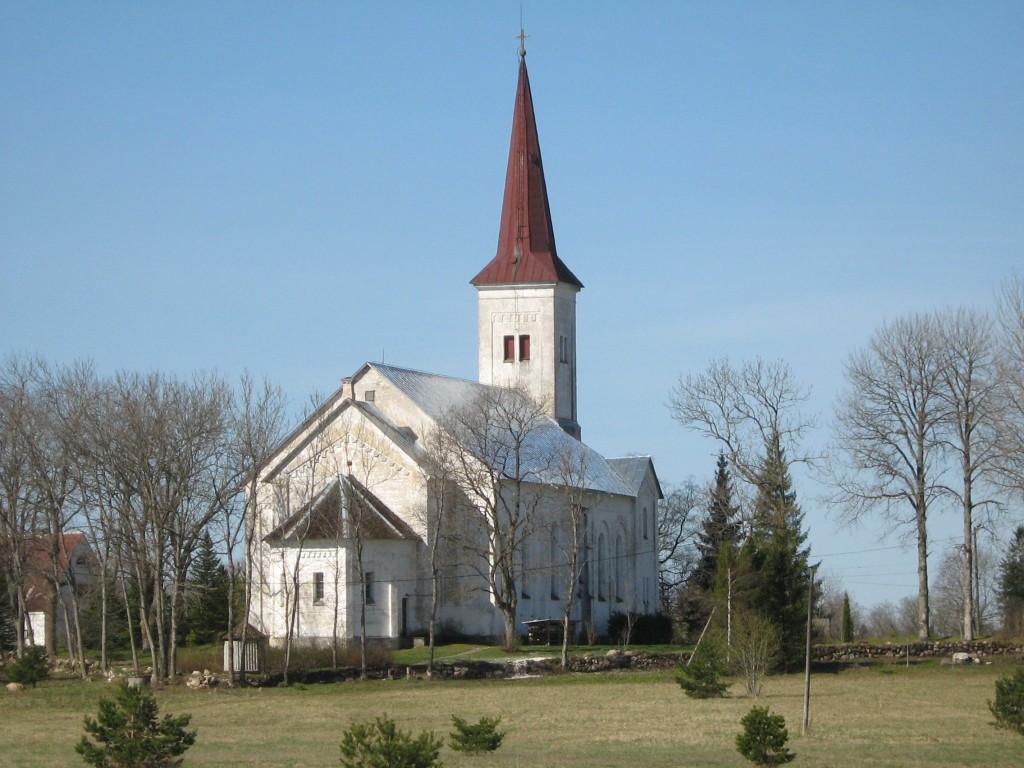 Vaade Harju-Jaani kirikule