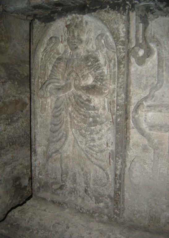 T. Rammi hauamonument. A. Passeri töökoda, 1634(?) (paas). Detailvaade. Foto: Sirje Simson 01.04.2006