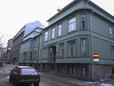 Elamu, 1912. a., kus 1934-1944 elas August Gailit