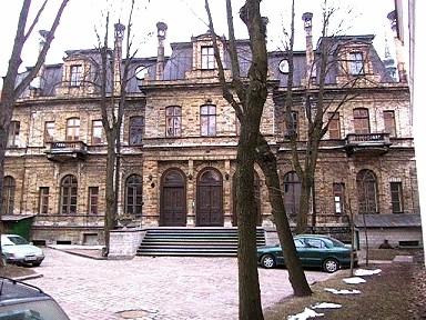 Elamu ja Eestimaa Kirjanduse Ühingu ja Eestimaa Provintsiaalmuuseumi hoone