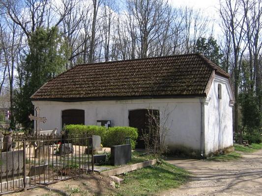 Kadrina kirikuaia kabel15662, vaade kiriku poolt- põhjast  autor: Anne Kaldam aeg: 11.05.2010
