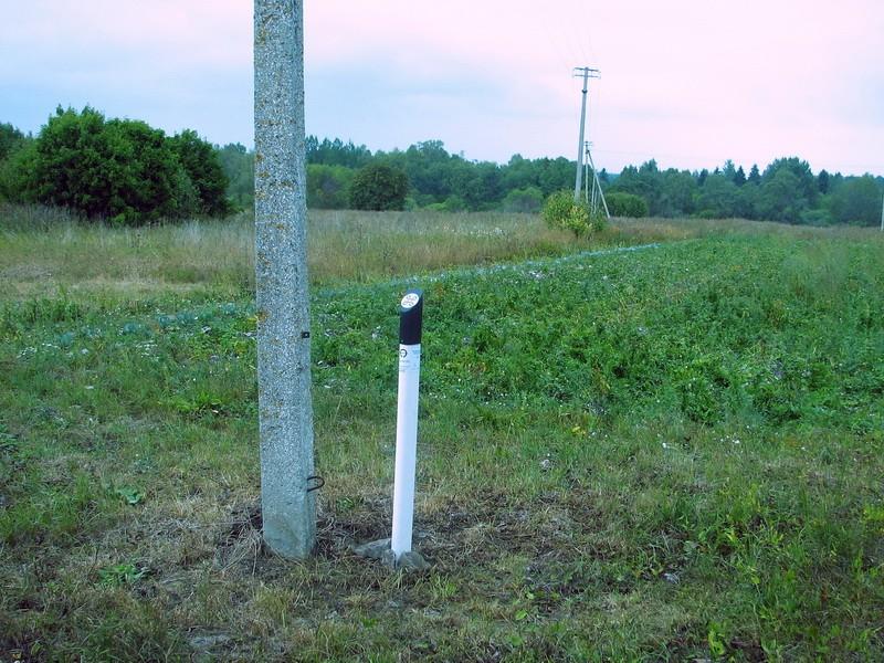 Asulakoht reg nr 10693, vaade lõunast. Foto: E. Ehrenpreis, juuli 2006