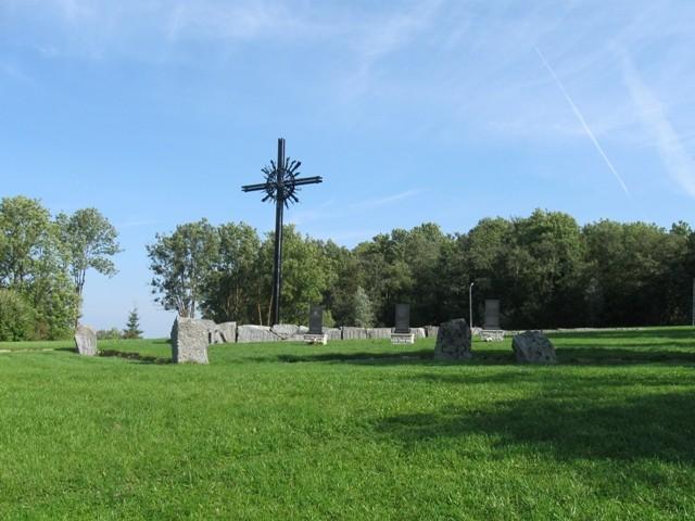 II maailmasõja Sinimägede lahingu koht. Tõnis Taavet, 08.09.2009.