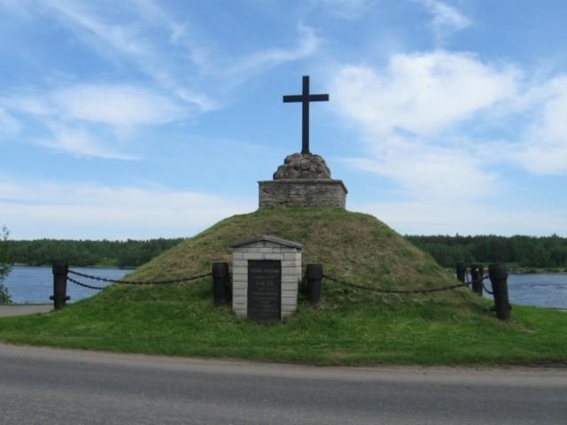Monument Põhjasõjas 1700. a. langenud vene sõjaväelastele. Tõnis Taavet, 01.06.2010.