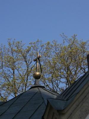 Haljala kirikuaia kabel 1 : 15649, vaade ristile Autor Anne Kaldam  Kuupäev  13.05.2010