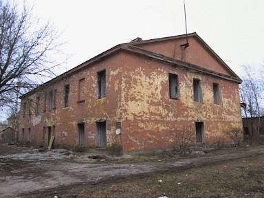 """Nn. Uuslinna (""""Novoi Gorodok"""") staabihoone, 18. saj. lõpp"""