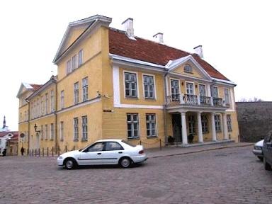 Elamu 18.-20. saj., kus 1919-1929 asus Riigivanema residents