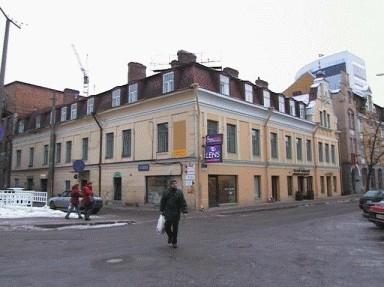 Tootmishoonete kogum Maakri tänaval ja kus a. 1908-1921 asus Tallinna Jaani koguduse kool