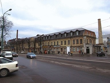 Rotermanni tehase Mere puiesteega külgneva tööstushoone fassadid, 1879-1891