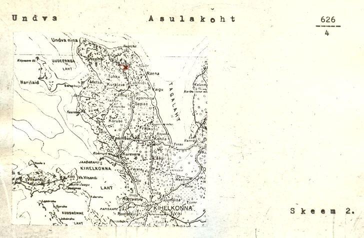 pass - 4 - arheoloogiamälestise pass. Koostanud: K. Jaanits, 1976. a. MKA arhiiv.