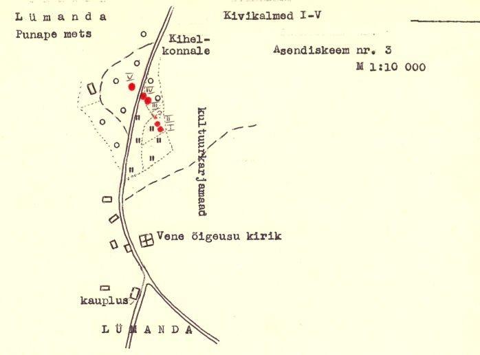 pass - 6 - arheoloogiamälestise pass. Koostanud: Vello Lõugas 1981 (MKA arhiiv).