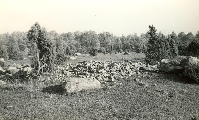 Kivikalmed (reg nr 12710-12724). Foto: E. Väljal, 06.10.1982.